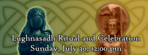 Lughnasadh Ritual and Celebration @  |  |