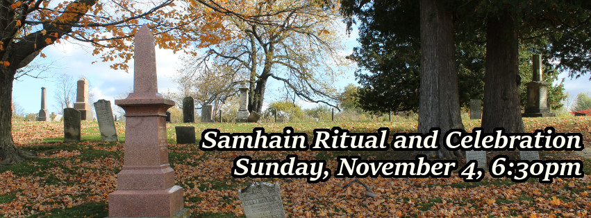 Samhain Ritual and Celebration, Sunday November 5, 6:30pm